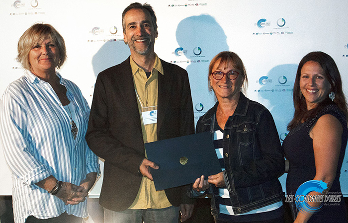 François Lauzier remporte le Prix Sculpture au symposium de Lavaltrie