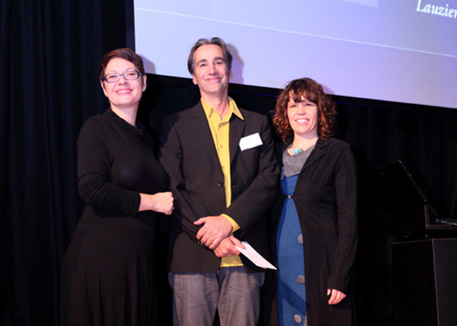 François Lauzier remporte le 1er prix à Québec
