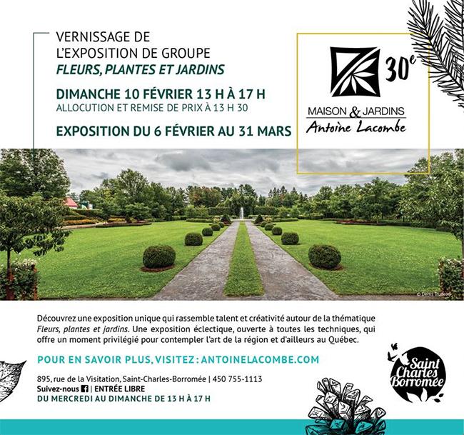 Exposition collective à la Maison Antoine Lacombe